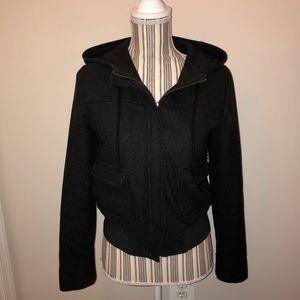 Old Navy Black Hooded Jacket
